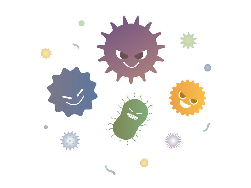 老鼠的糞便與身體上,經常夾帶著許多細菌與病毒,容易造成傳染疾病的傳播