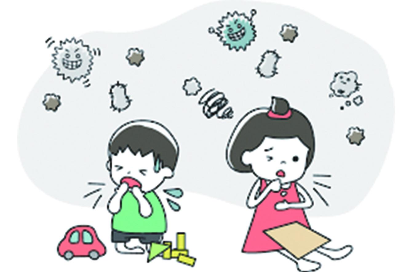 兒童、老人更易受影響,空氣污染對身體健康的影響層面很廣,從細微的生理變化,到明顯的症狀,如「氣喘」、「咳嗽」、「胸痛」或「胸悶」等。哮喘或呼吸系統慢性疾病患者, 接觸到空氣污染物,病情便會加劇。