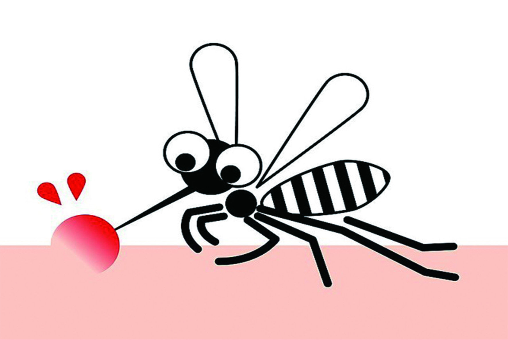 在被小黑蚊或其他蚊蟲叮咬後,會產生俗稱的「紅豆冰」,經常癢到睡不著。而小黑蚊的飛行高度,多半在一公尺一下,所以最常被叮咬的部位是小腿與膝蓋等地方,其他蚊蟲的叮咬範圍可遍及全身。