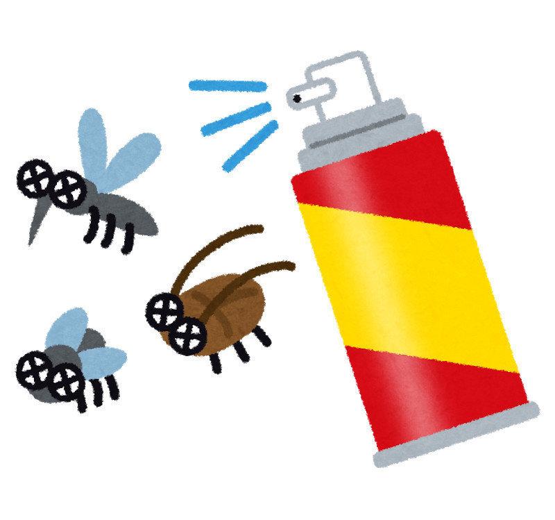 殺蟲劑必須謹慎使用,防治蚰蜒時,清除源頭最為重要,切忌倚賴殺蟲劑,使用殺蟲劑不僅污染環境,更是威脅人體健康,甚至可能導致昆蟲產生抗藥性,使得劑量必須越用越重,效果卻越來越小。