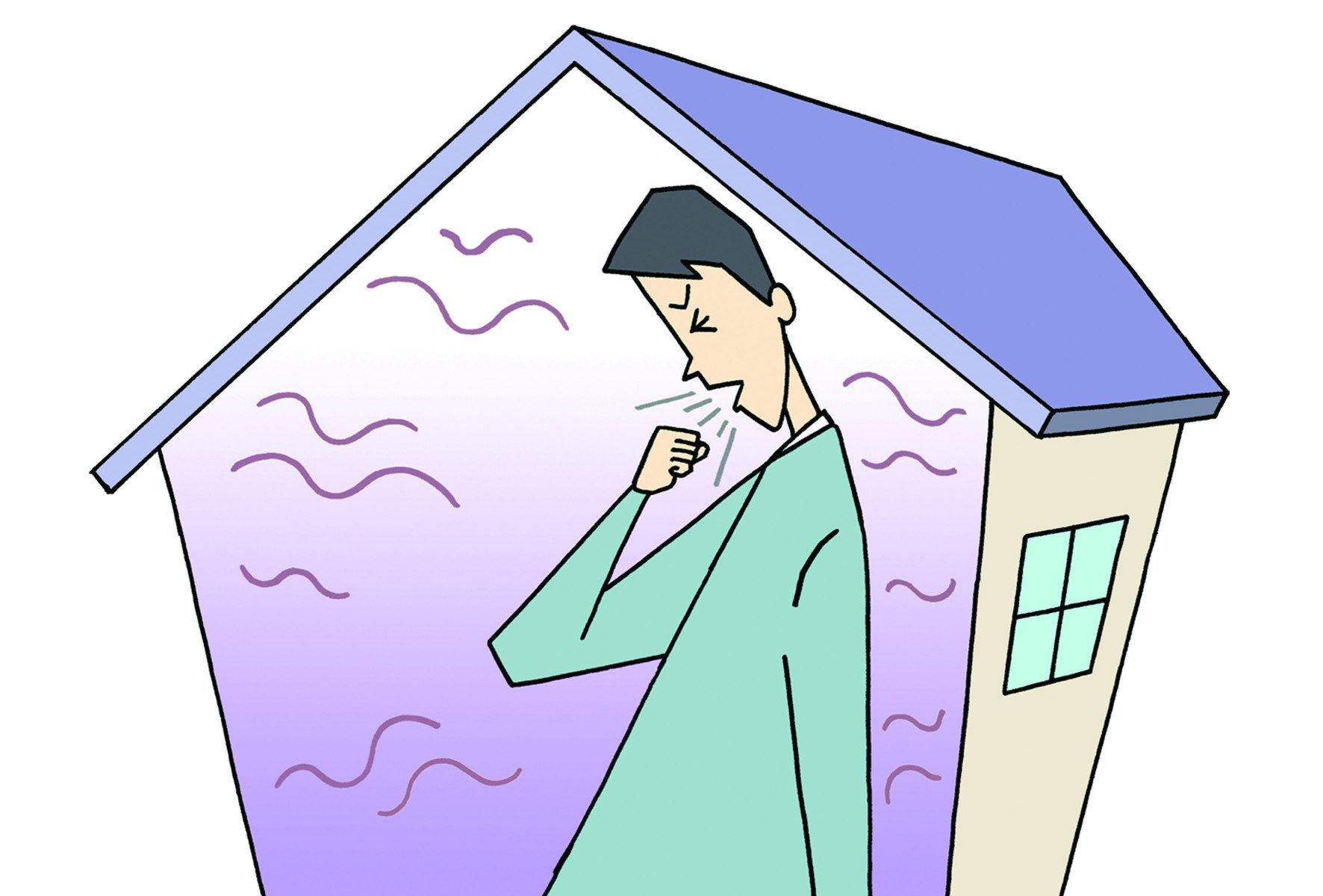 目前台灣法規所認定的室內污染物包括「二氧化碳」、「一氧化碳」、「甲醛」、 「總揮發性有機物(TVOC)」、「PM2.5」或「臭氧」等等。