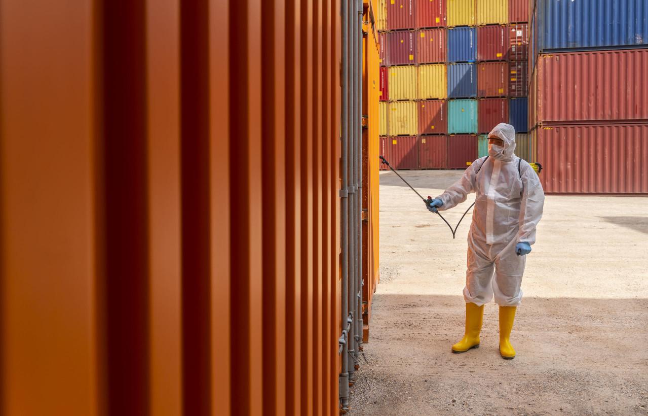 物流倉儲因其貨物的高流動性,因此害蟲預防極為重要,這也是潔肯防治理念所在