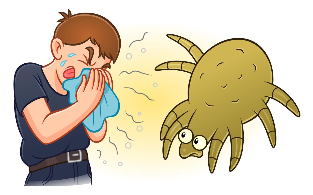 台灣地區最常見也最嚴重的過敏源就是塵蟎 ,居家環境裡常見的塵蟎種類以歐洲室塵蟎與美洲室塵蟎為主。