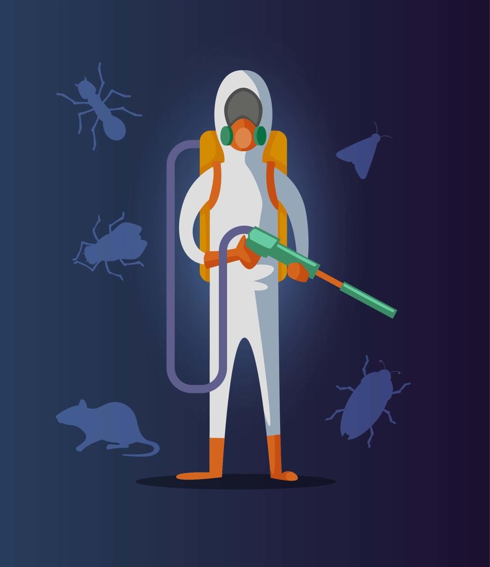 預防嚙蟲孳生,最基礎的作法便是避免適合嚙蟲適合生長的環境產生,盡量維持室內相對濕度在50%~60%之間,藉此杜絕嚙蟲最主要的食物黴菌有機會生長。 潔肯除蟲公司